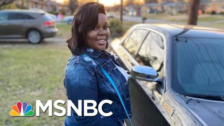 Breonna Taylor Financial Settlement Said To Be In The Millions, Will Address Search Warrants | MSNBC 1