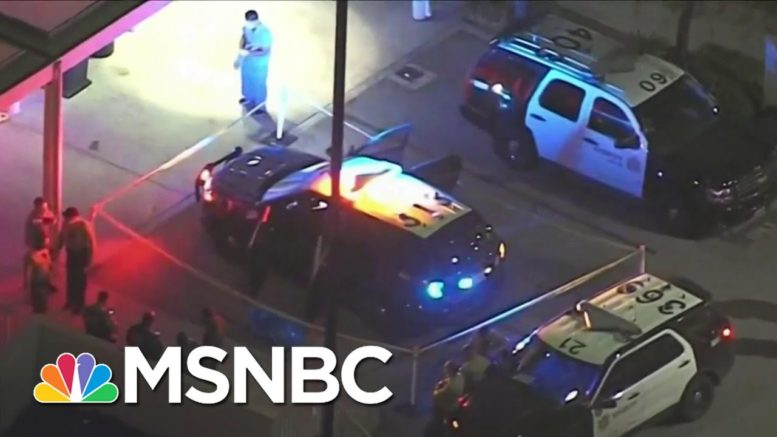 Mayor Garcetti Putting 'All Resources' Into Finding Perpetrator In L.A. Deputy Shooting | MSNBC 1