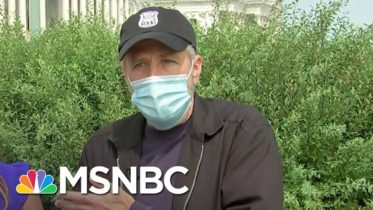Jon Stewart Backing Bill To Help Veterans Affected By Toxic Burn Pits | Andrea Mitchell | MSNBC 6