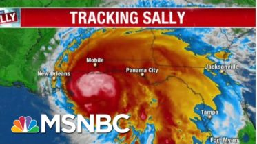 Hurricane Sally Approaches Gulf Coast, Threatens Historic Flooding | MTP Daily | MSNBC 10