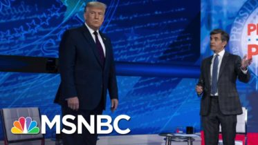 Trump Struggles With Tough Questions From Voters At Town Hall | The 11th Hour | MSNBC 6