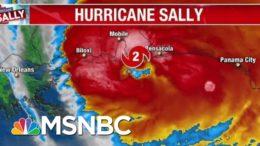 Hurricane Sally Makes Landfall Near Gulf Shores, Al. | Morning Joe | MSNBC 6
