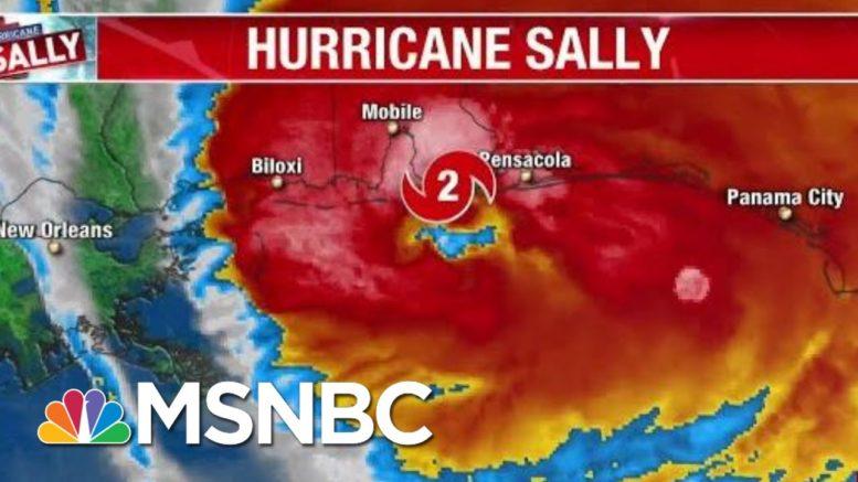 Hurricane Sally Makes Landfall Near Gulf Shores, Al. | Morning Joe | MSNBC 1