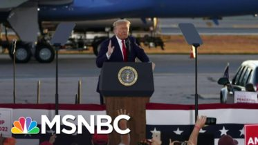 Trump's Coronavirus Strategy: 'Don't Believe Your Eyes, Don't Believe Your Ears' | MSNBC 10