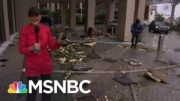 Hurricane Sally Sends Debris 'Flying Through The Air' In Mobile, Ala. | Stephanie Ruhle | MSNBC 4