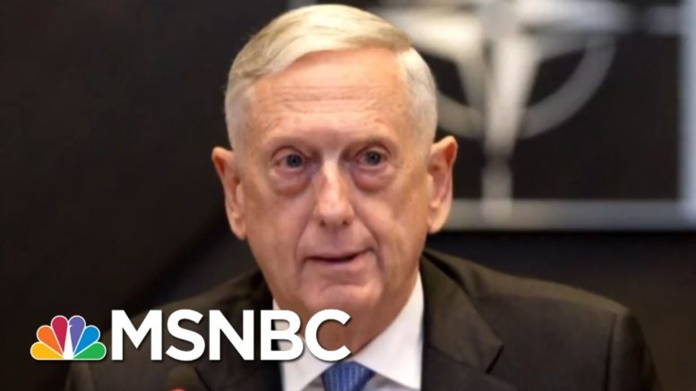 Woodward: Mattis' Mom Asks Him 'How Can You Work For This Man?' | Morning Joe | MSNBC 1
