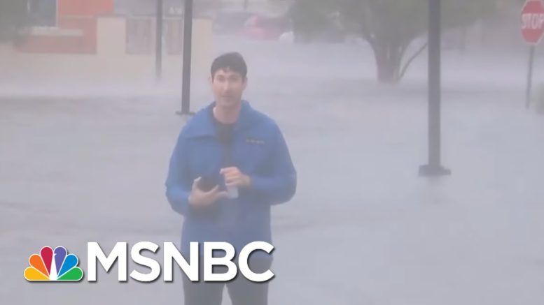 Hurricane Sally Floodwaters Submerge Cars In Pensacola, Florida | Stephanie Ruhle | MSNBC 1