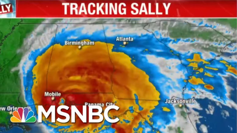 Hurricane Sally Makes Landfall In Alabama | MTP Daily | MSNBC 1