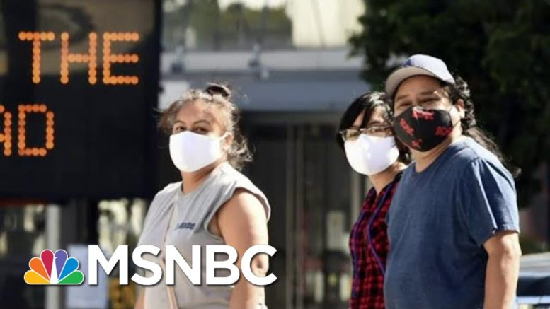 Trump Again At Odds With Health Experts On Effectiveness Of Face Masks   MTP Daily   MSNBC 1