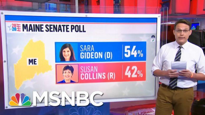 Lindsey Graham In Tight Senate Race, Susan Collins Lagging Behind | Ayman Mohyeldin | MSNBC 1