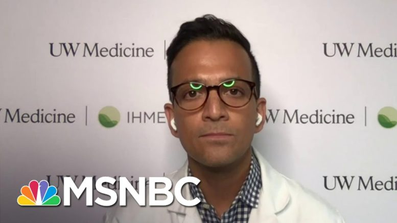 Dr. Gupta Responds To Trump's Comment On Herd Immunity: For It To Work, 'People Will Die' | MSNBC 1