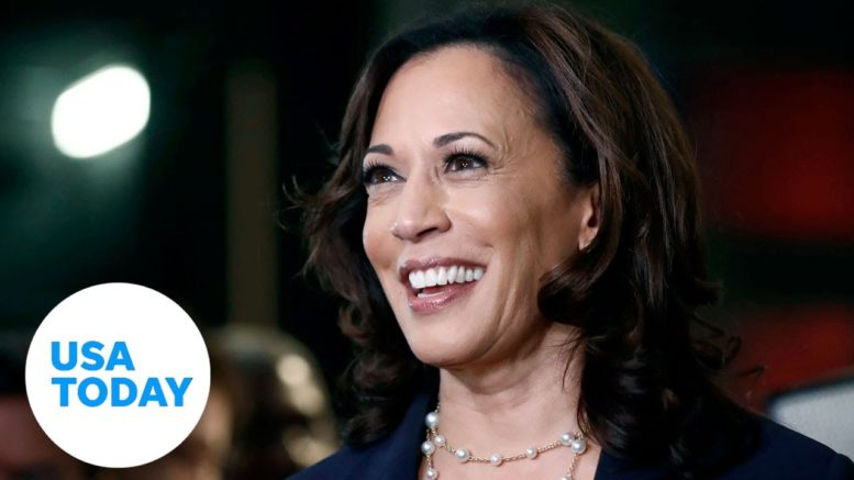 Joe Biden picks Kamala Harris as VP running mate for 2020 election | USA TODAY 1