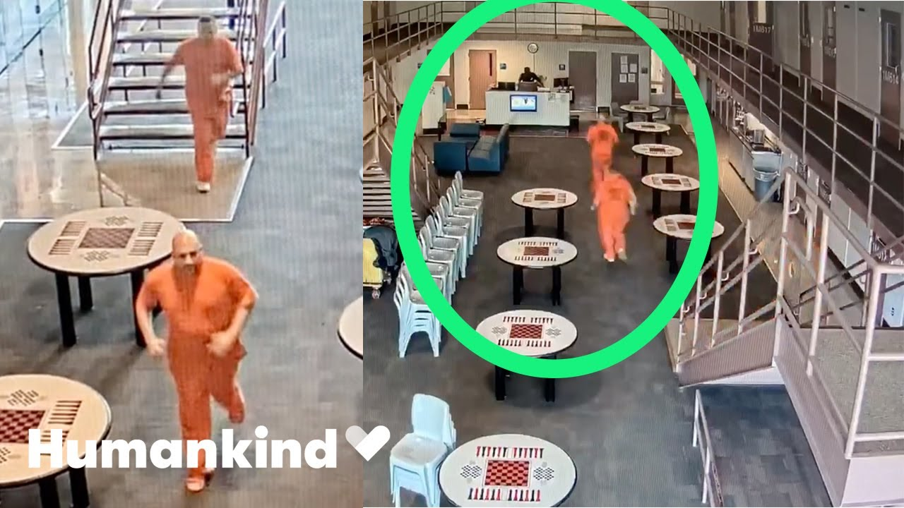 Inmates rush from cells to save deputy's life   Humankind 4