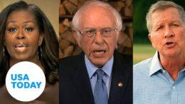 Michelle Obama, Bernie Sanders headline first night of DNC focused on unity | USA TODAY 4