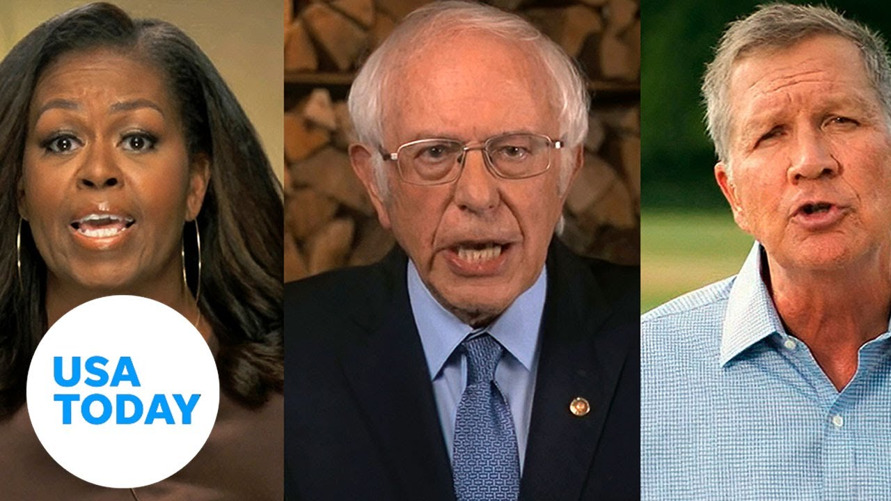 Michelle Obama, Bernie Sanders headline first night of DNC focused on unity   USA TODAY 8
