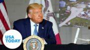 President Trump visits Cedar Rapids to address coronavirus | USA TODAY 5