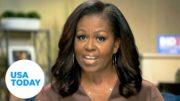 "Michelle Obama DNC 2020: Trump ""in over his head' (FULL) | USA TODAY 4"
