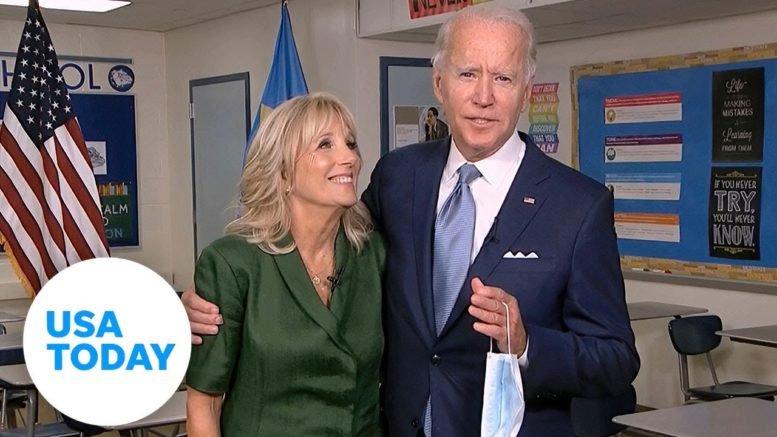 Joe Biden secures formal presidential nomination during night two of DNC | USA TODAY 1