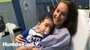 Toddler gets life-saving kidney from 21-year-old | Humankind 3