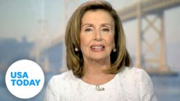 Nancy Pelosi delivers remarks to the Democratic National Convention   USA TODAY 3