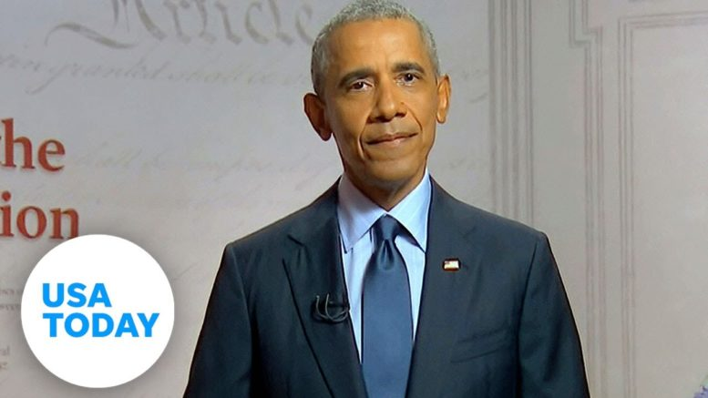 Barack Obama's blistering speech on Trump at 2020 DNC (FULL) | USA TODAY 1