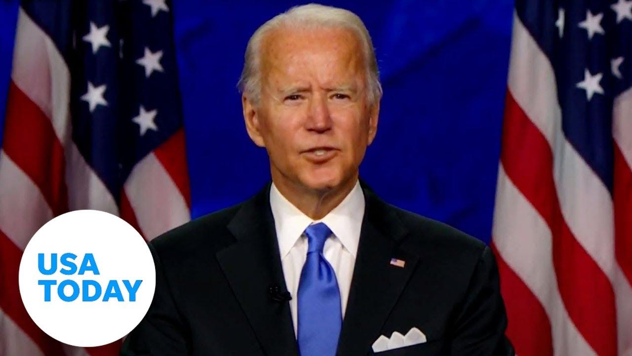 DNC 2020: Joe Biden to accept nomination at convention   USA TODAY 2