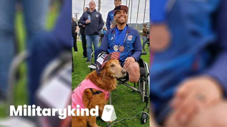 Veteran who lost three limbs finds purpose in surfing   Militarykind 1