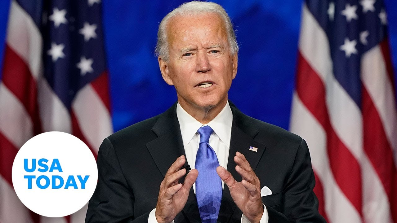 Joe Biden accepts the nomination at DNC, delivers speech on four crises (FULL) | USA TODAY 1