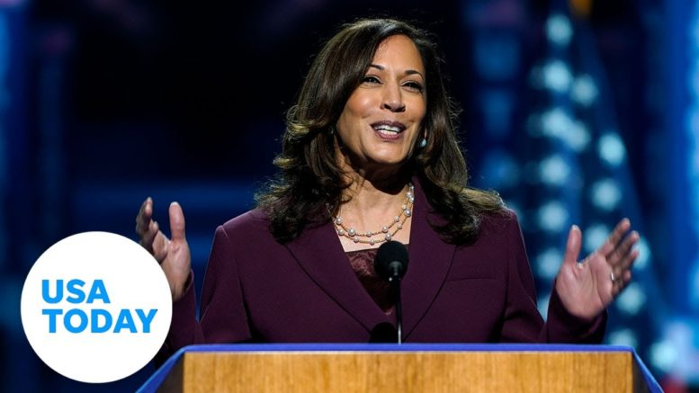 Kamala Harris accepts Democratic Party nomination for Vice President   USA TODAY 1