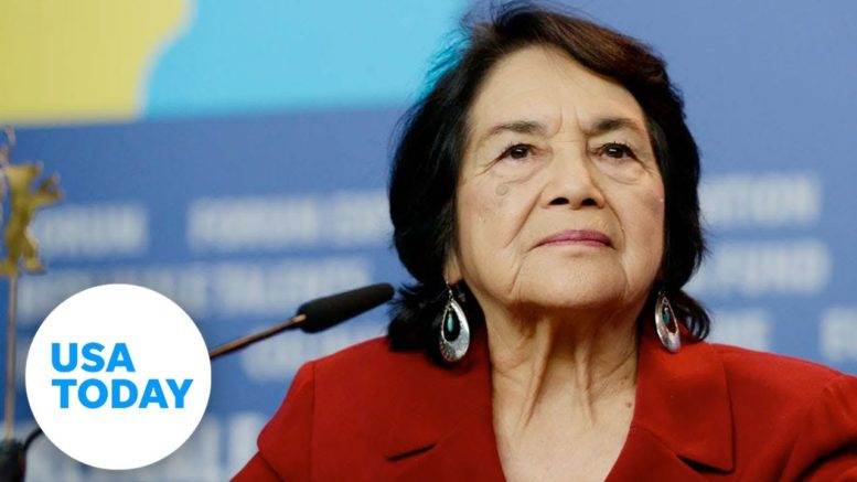 Dolores Huerta is still organizing and pushing for change 60 years on | Women of the Century 1