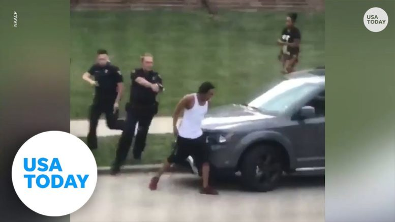 Wisconsin police shooting: Black man in serious condition, protests erupt after shooting   USA TODAY 1