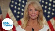 Kellyanne Conway at RNC Pres. Trump 'has stood by me' | USA TODAY 4
