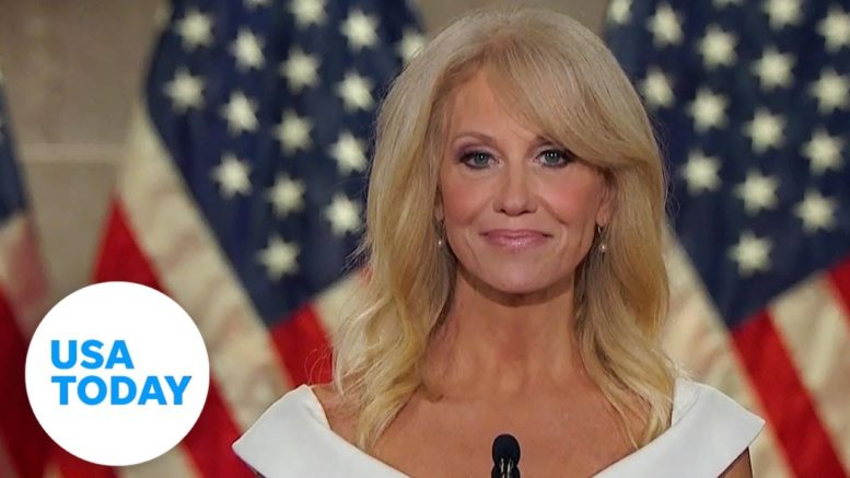 Kellyanne Conway at RNC Pres. Trump 'has stood by me' | USA TODAY 1