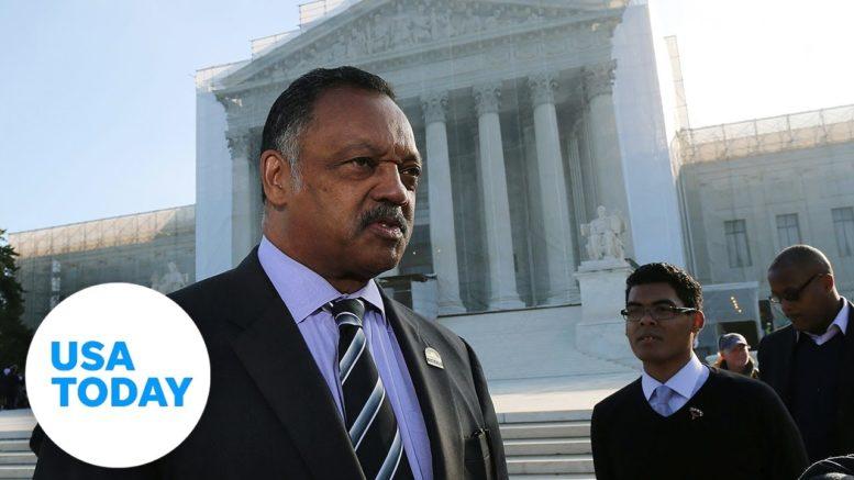 Rev. Jesse Jackson and Kenosha NAACP officials hold press conference | USA TODAY 1
