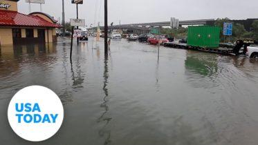 Hurricane Laura makes landfall in SW Louisiana | USA TODAY 6