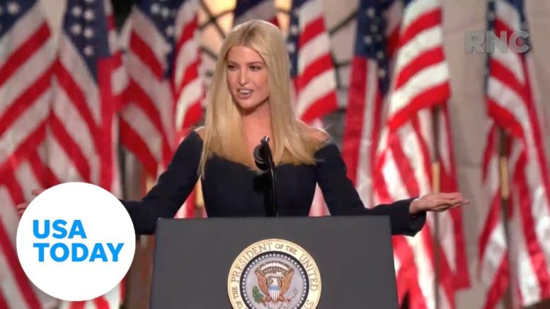 Ivanka Trump introduces her father at RNC (FULL) | USA TODAY 1