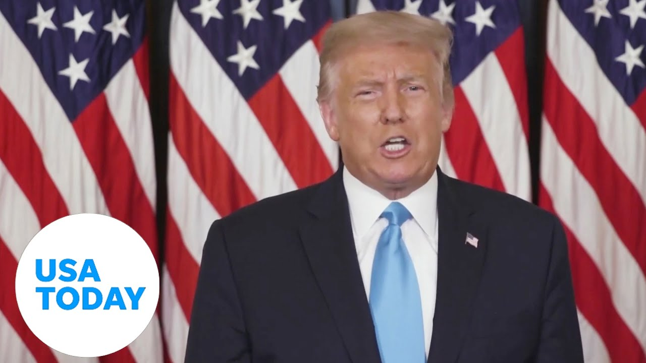 RNC 2020: Donald J. Trump accepts the Republican nomination for a second term | USA TODAY 2
