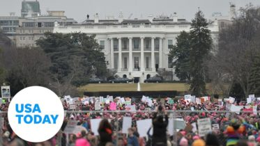 Reverend Al Sharpton and Martin Luther King III lead March on Washington 2020 | USA TODAY 10