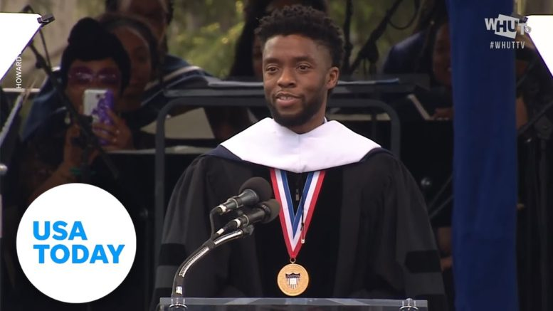 Chadwick Boseman's powerful Howard University commencement speech (FULL) | USA TODAY 1