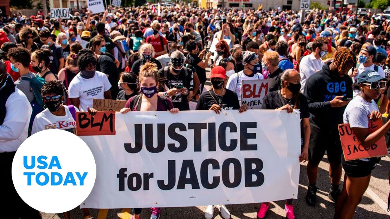 Jacob Blake's family holds news conference in Kenosha, WI | USA TODAY 2