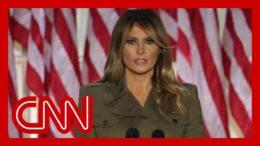 Melania Trump strikes compassionate tone at RNC 2