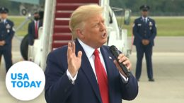 President Trump suggests North Carolina voters should be voting twice   USA TODAY 5