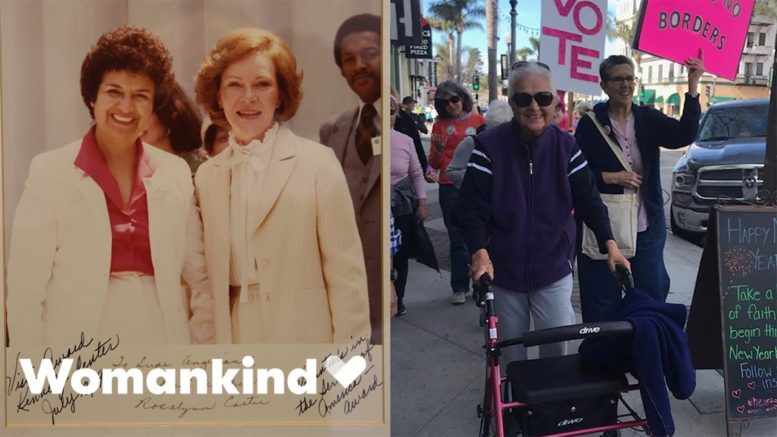 91-year-old activist continues to change the world | Womankind 1