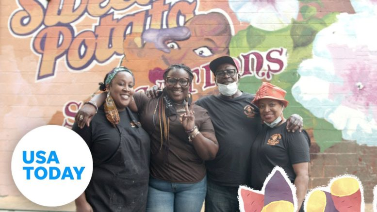How this Black-owned sweet potato cafe is defying the COVID-19 odds | USA TODAY 1