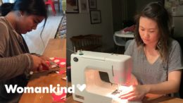 Aunties form ultimate sewing squad to save lives | Womankind 9