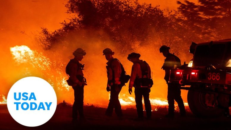 Wildfires are scorching western states including California, Oregon and Colorado | USA TODAY 1
