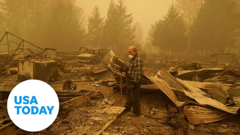 Oregon Gov. Kate Brown: Dozens of people are missing in wildfires | USA TODAY 1