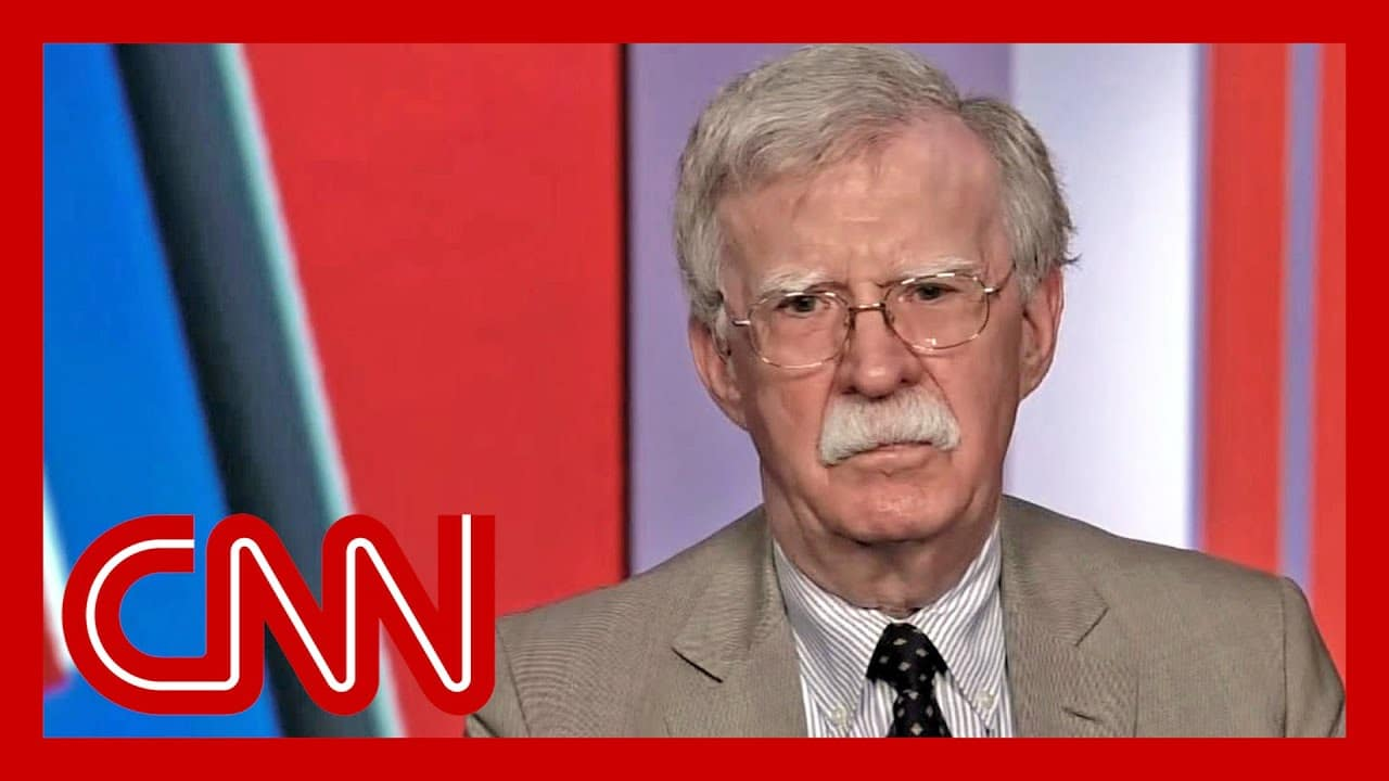 John Bolton on RNC from the White House: It's a destruction of standards 9