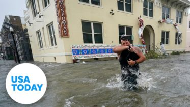 Hurricane Sally floods downtown Pensacola, Florida | USA TODAY 6