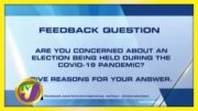 TVJ News: Feedback Question - August 10 2020 2